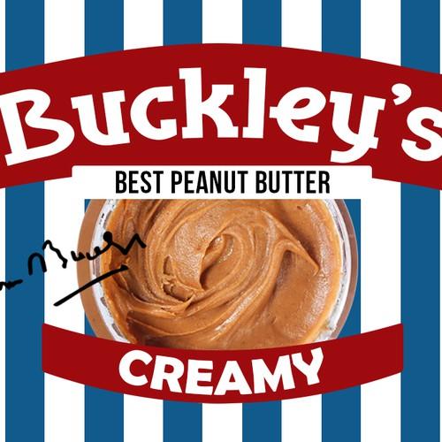 Label for custom peanut butter