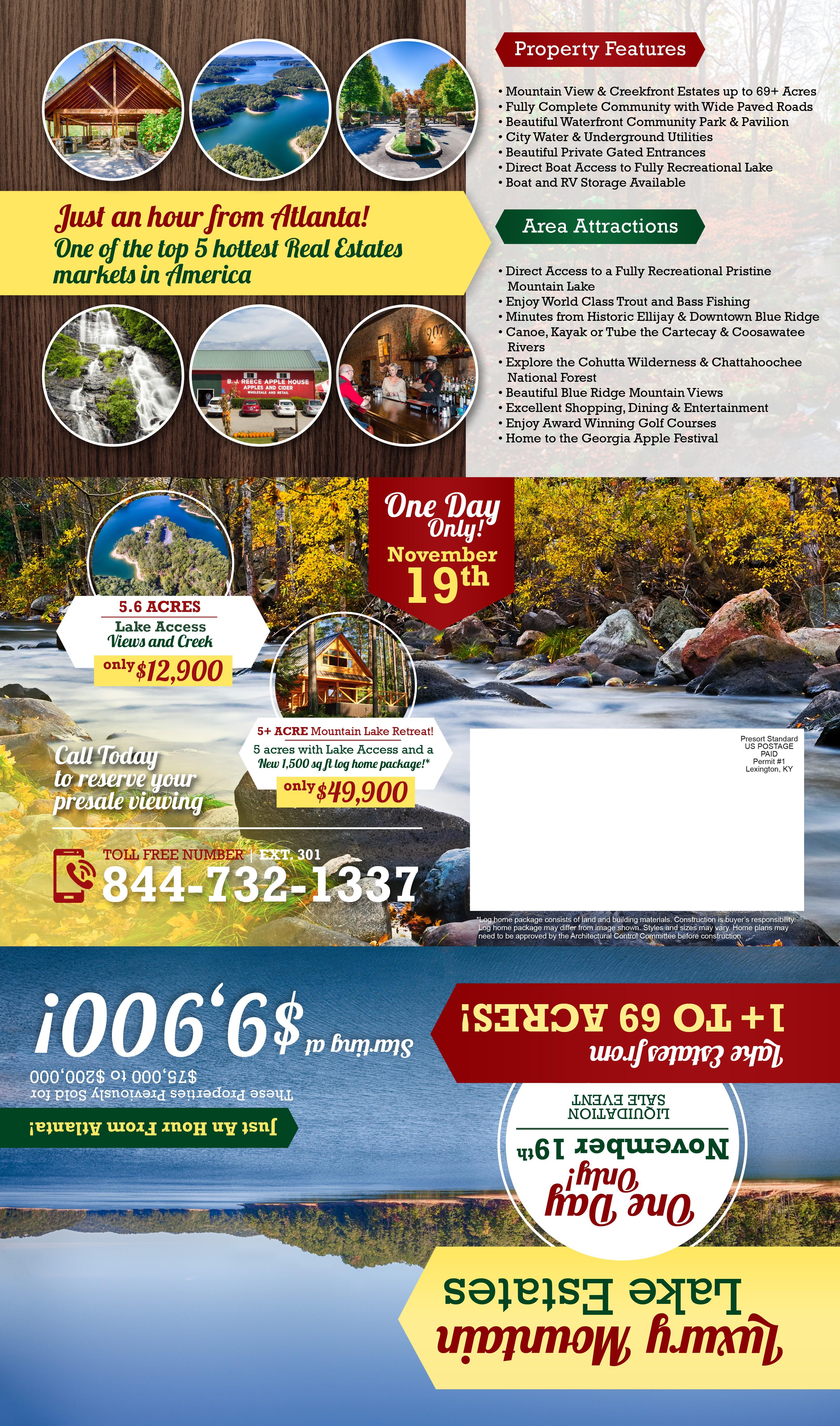 *Guaranteed Prize* Lake Liquidation Sale Flyer