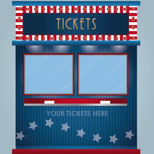Ticket Cabin Design