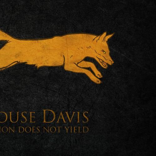 Design The Emblem of House Davis