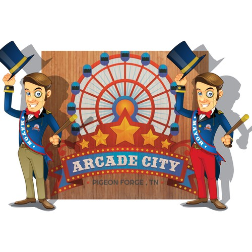 New Mascot for Arcade City