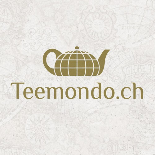 Logo for a tea-online-shop in Switzerland
