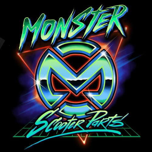 Creative shirt design needed for Monster Scooter Parts