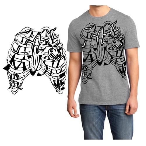 Interesting t-shirt design