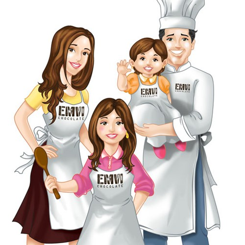 Illustration based on a family business