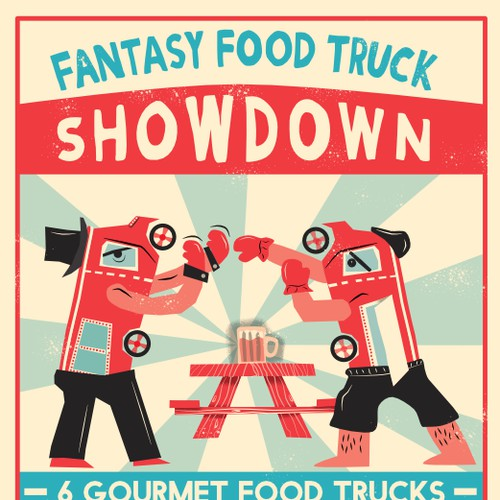Food Truck Event Advertisement
