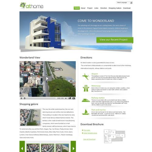 A captivating web site for a construction company! URGENT!!!!
