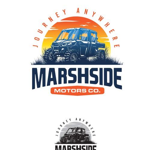 Logo for motor adventure
