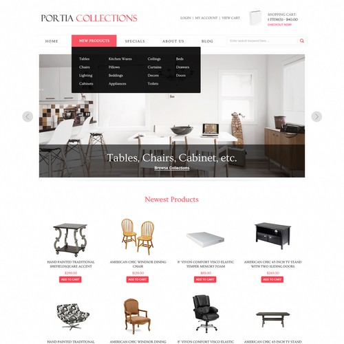Responsive Web Designs for Ecommerce Themes (10+ winners guaranteed)