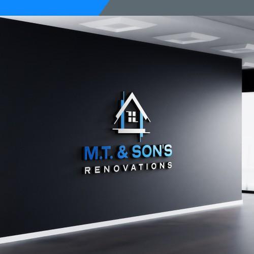 M.T. & Son's - Logo design