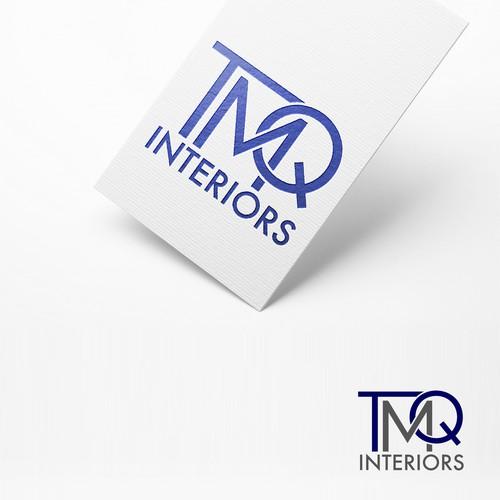 Clean Simple Interior Design Logo