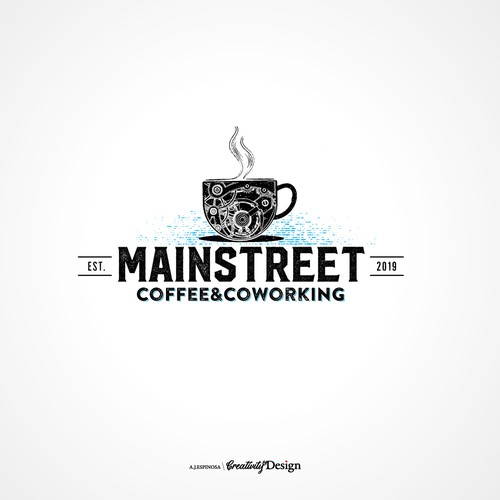 Coffee Shop and Coworking Logo