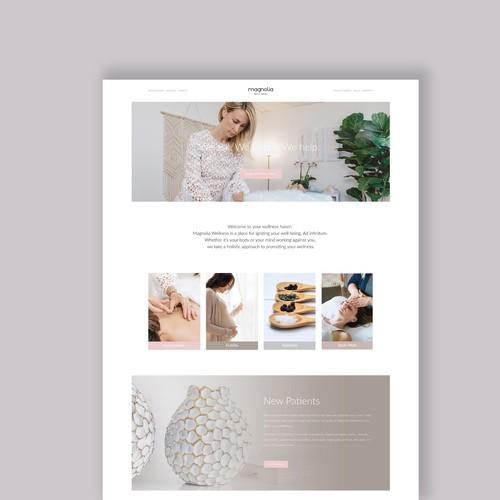 Magnolia Wellness Web Design