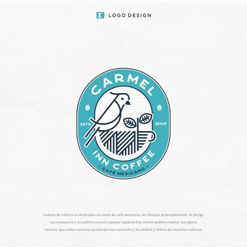 diseño de logo para cadena de cafeterias