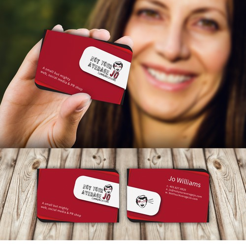 Create a cheeky, fun business card