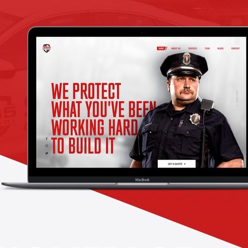 Security Guard Company Website