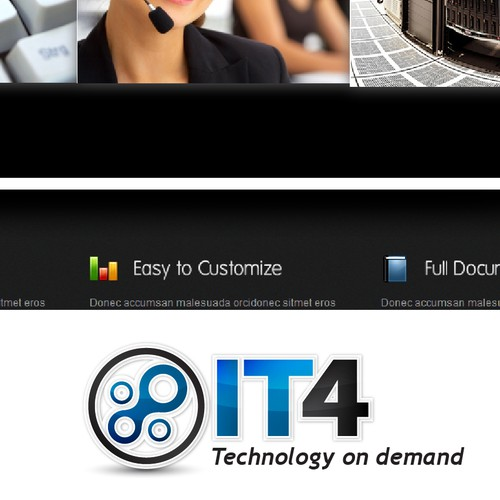 IT4 - IT infrustructure logo