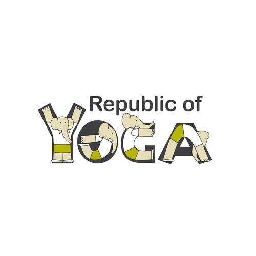 YOGA Logo Design - Republic Of Yoga -