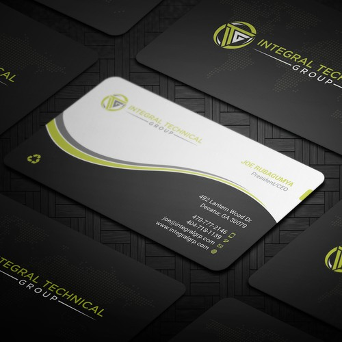 Create the best business card of all-times!.