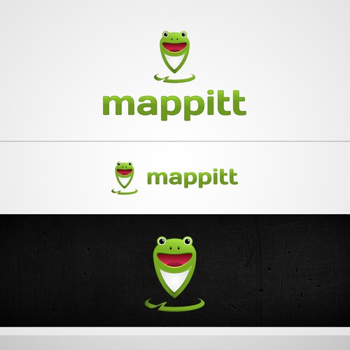 Logo for Mappitt - Mapping website