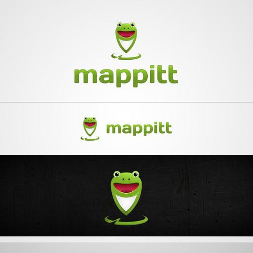 Logo for Mappitt - Mapping website