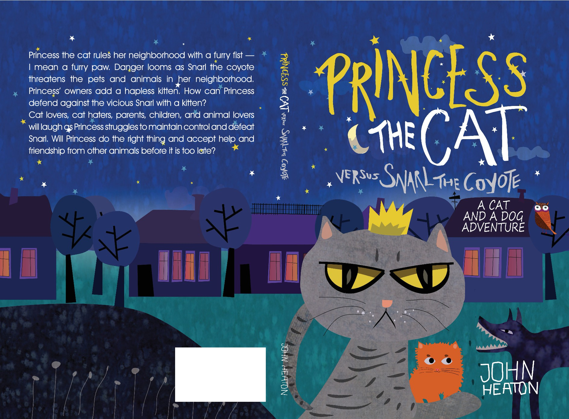 Design a fun Children's (ages 8-12) Animal Chapter Book cover - first in series