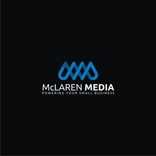 logo design for mclaren media