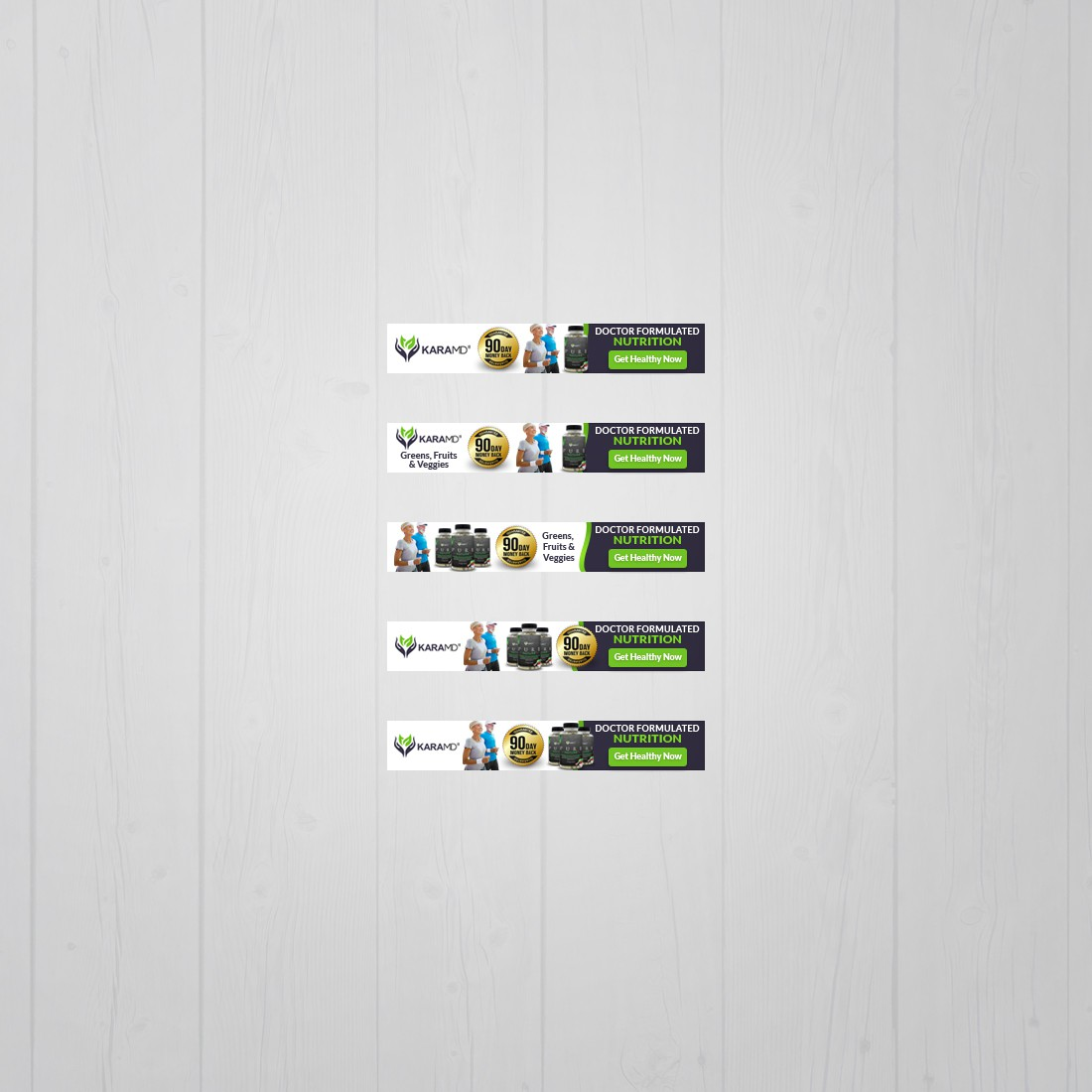 Pure Nature Banner Ads
