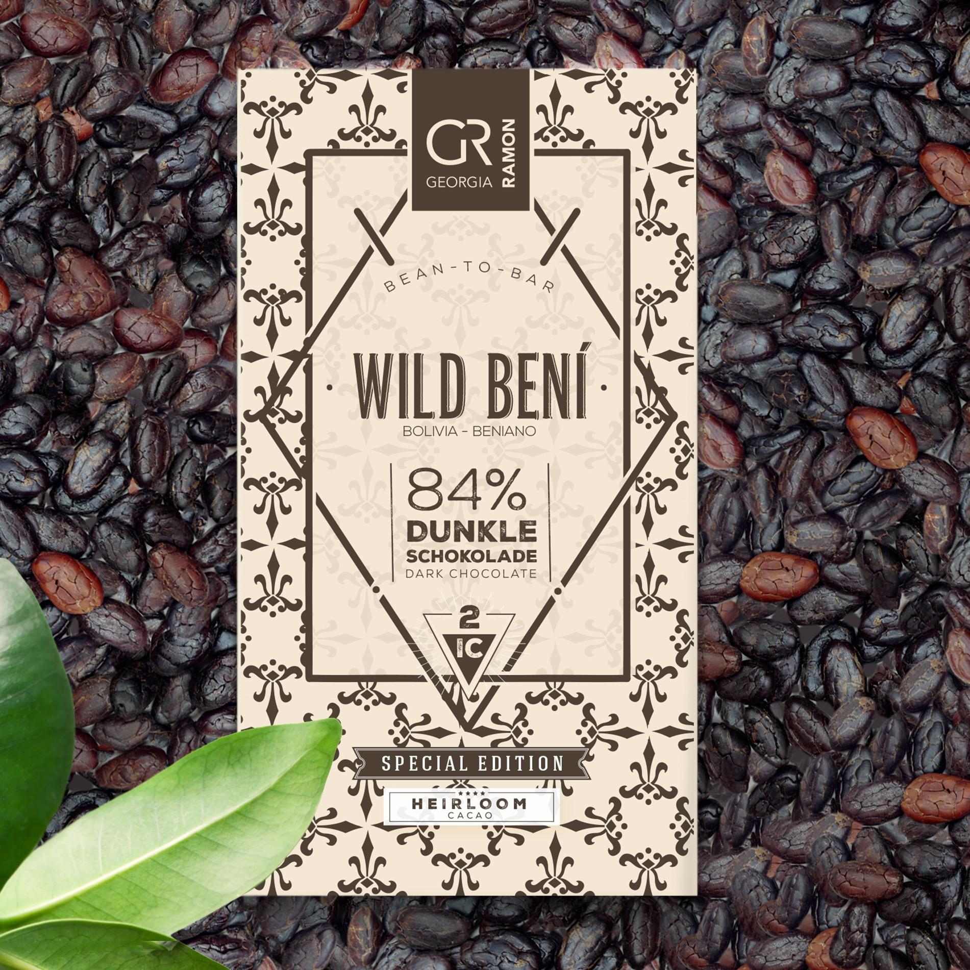 4 Labels for chocolate bars Bernardini