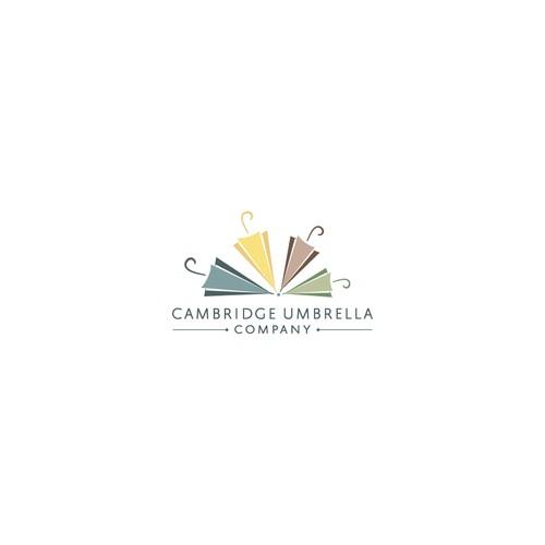 Funny and cozy logo concept for un umbrella company