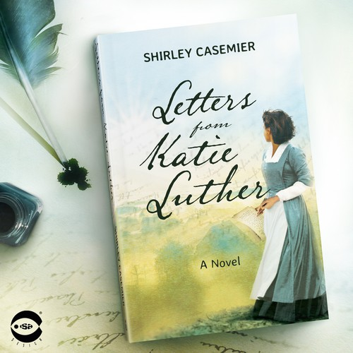 "Book cover for ""Letters from Katie Luther"" by Shirley Casemier"