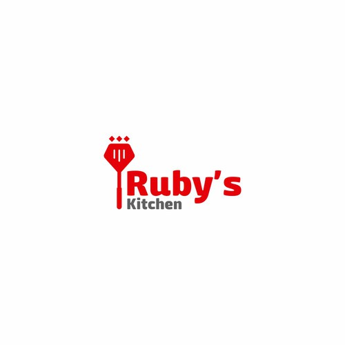 Ruby's Kitchen logo Concept