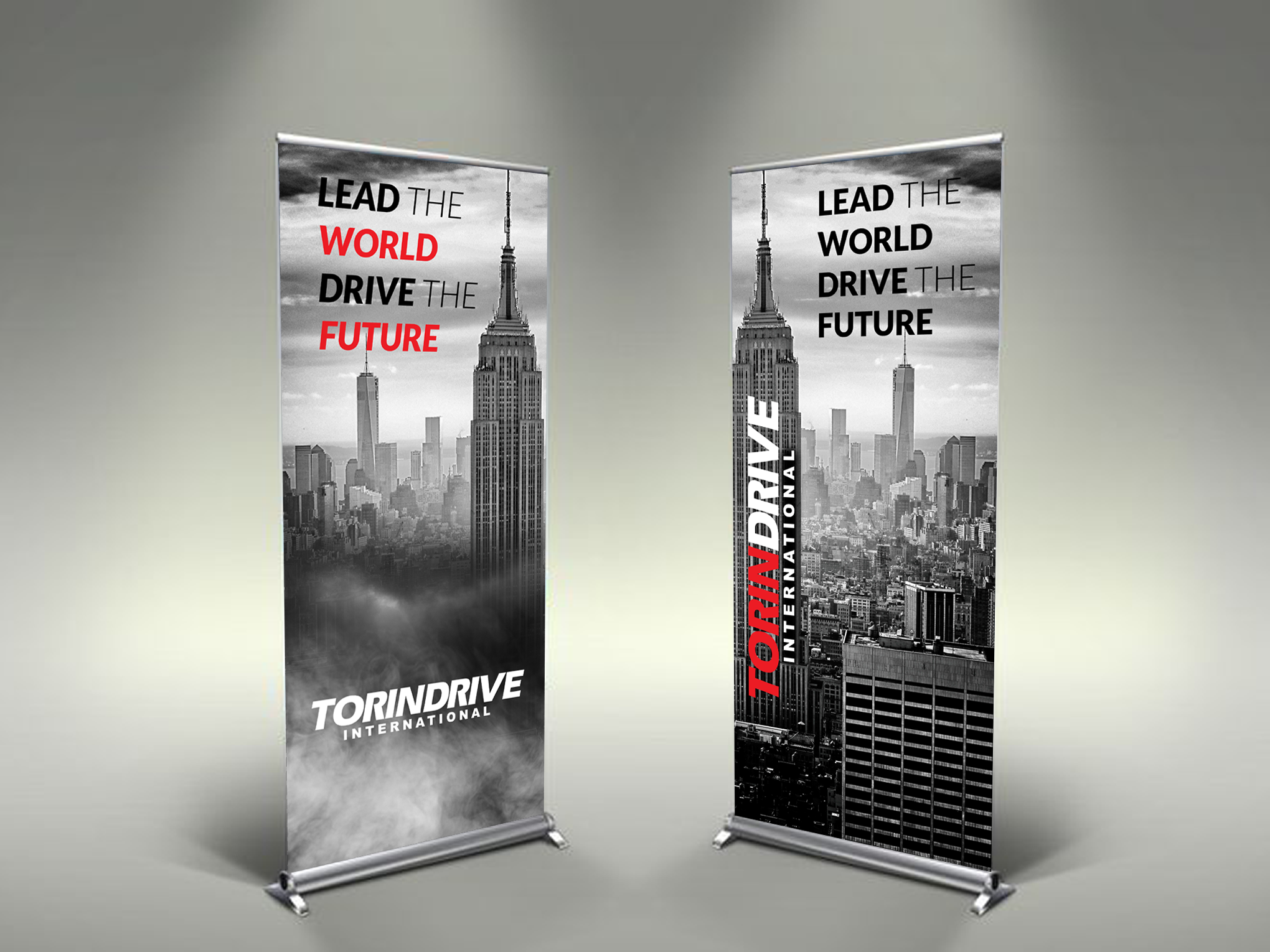 Trade Show Banner for Industrial Brand