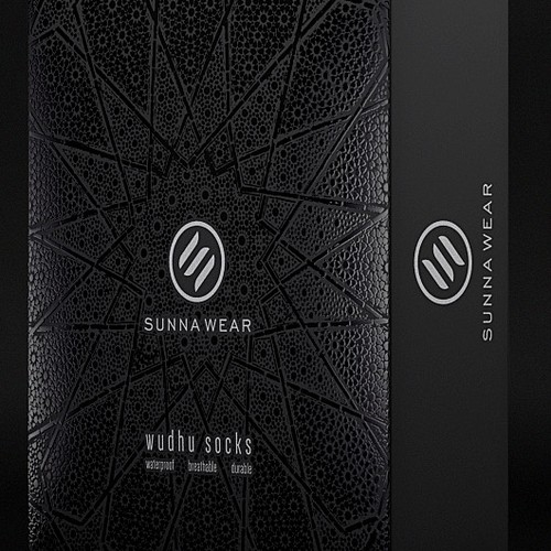 Packaging design for Sunna Wear