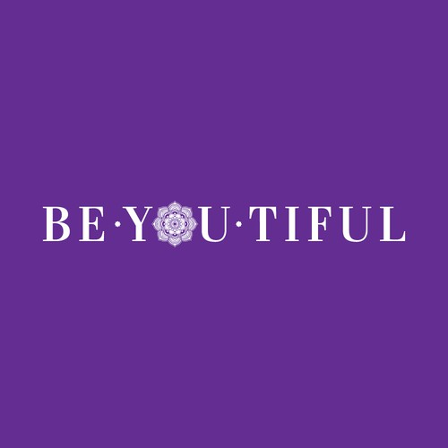 BE-YOU-TIFUL! Logo design concept