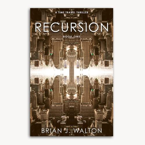 Book cover design for Science Fiction Novel
