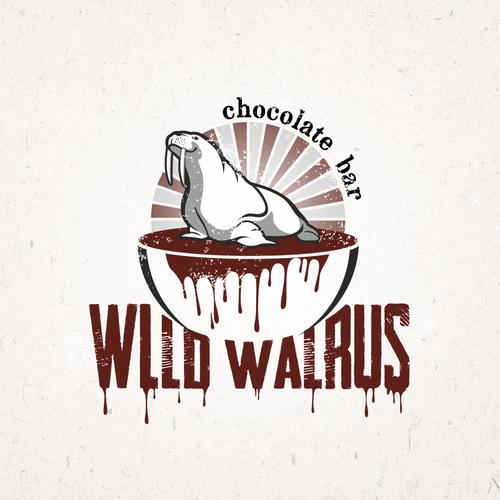 logo design for chocolate bar