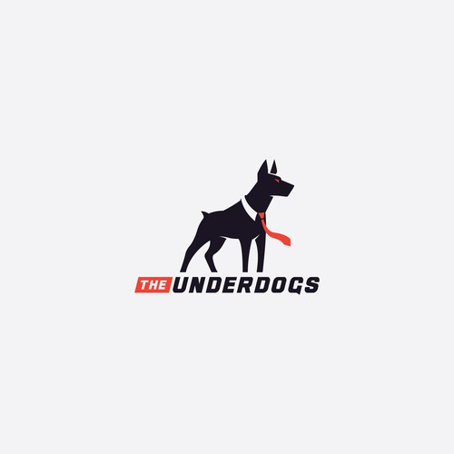 Strong logo for dragon The Underdogs