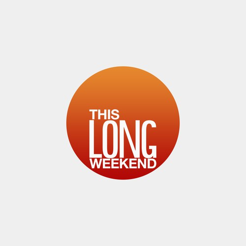 Help This Long Weekend  with a new logo
