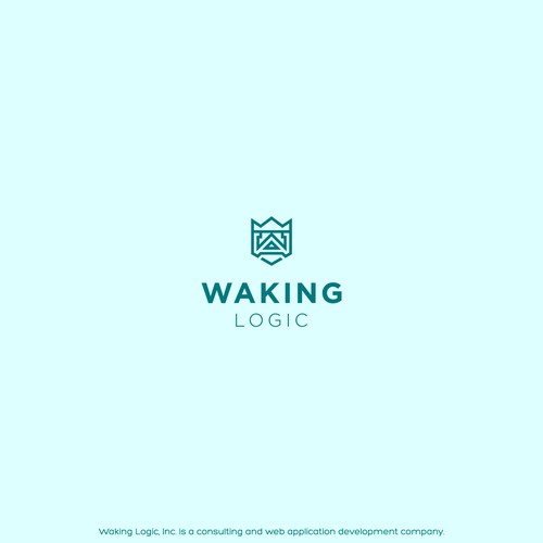 Logo for Waking Logic