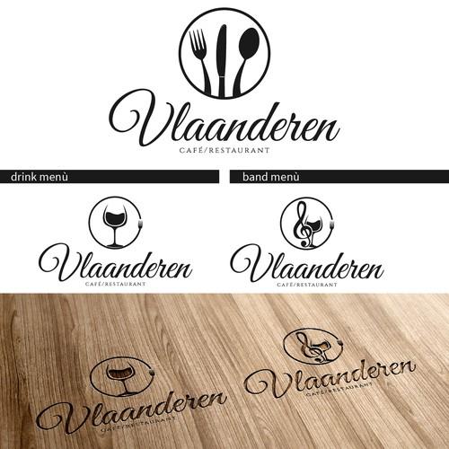 Create the winning logo for café/restaurant'Vlaanderen'!