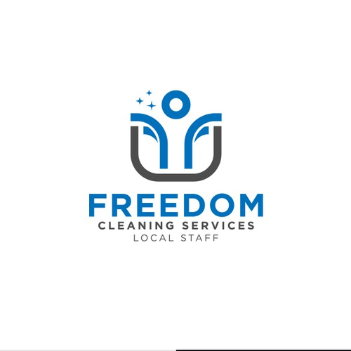 Freedom cleaning services logo