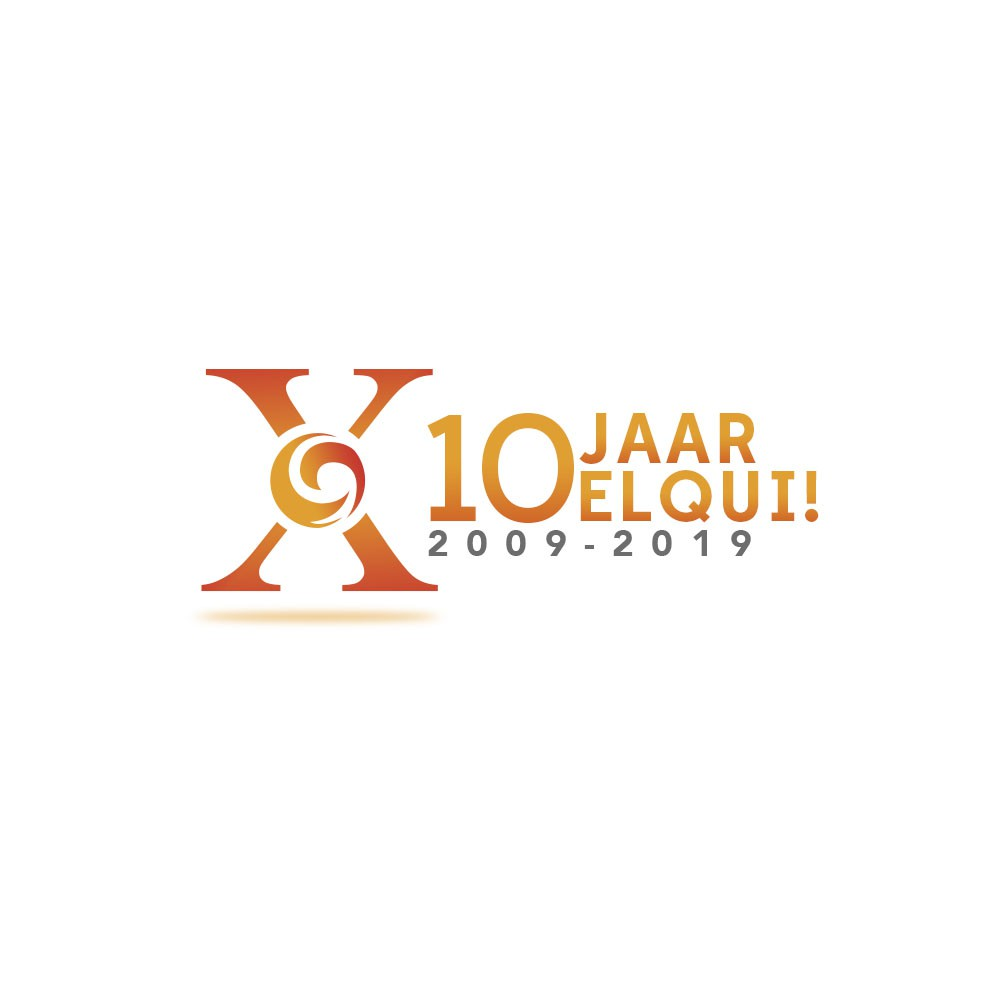 10x year anniversary celebration event logo for career agency | 2009-2019
