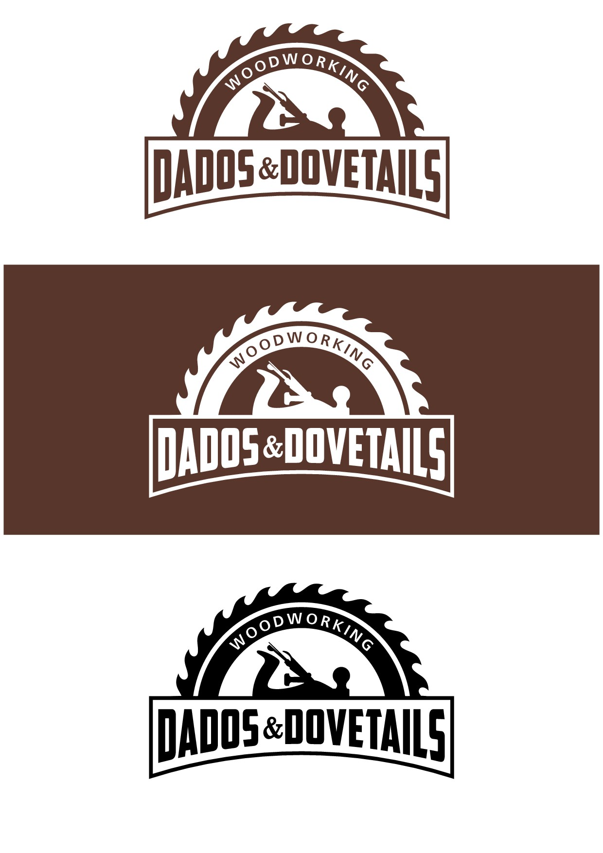 Create an eye catching woodworking logo for Dados & Dovetails