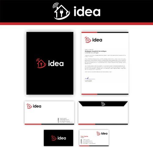 Simple logo for idea