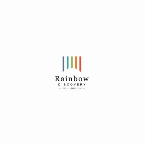 clean rainbow logo