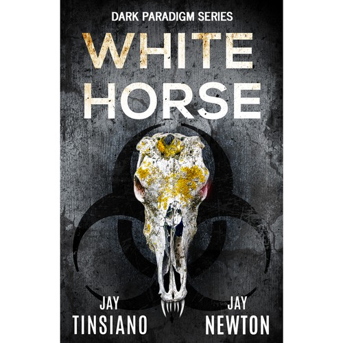 Book cover design for White Horse