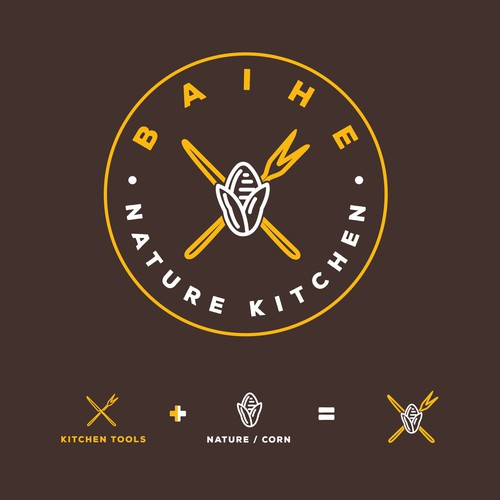 Logo Concept for Kitchen Tools and Restaurant