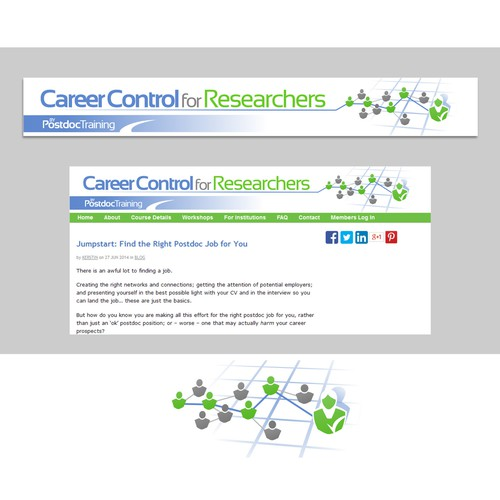 CCfR - website banner linked with Postdoc training