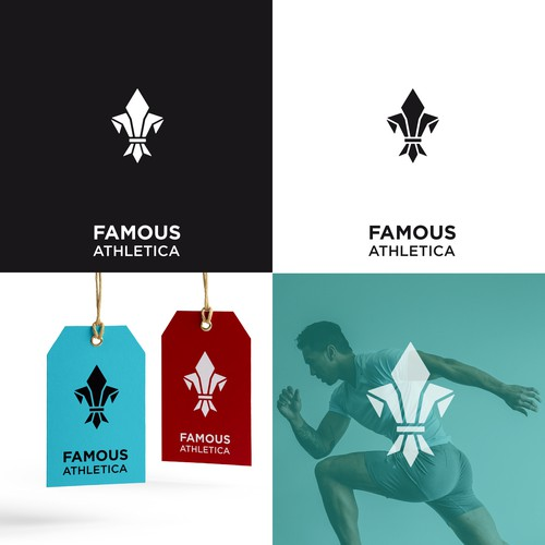 logo for a new athletic apparel company